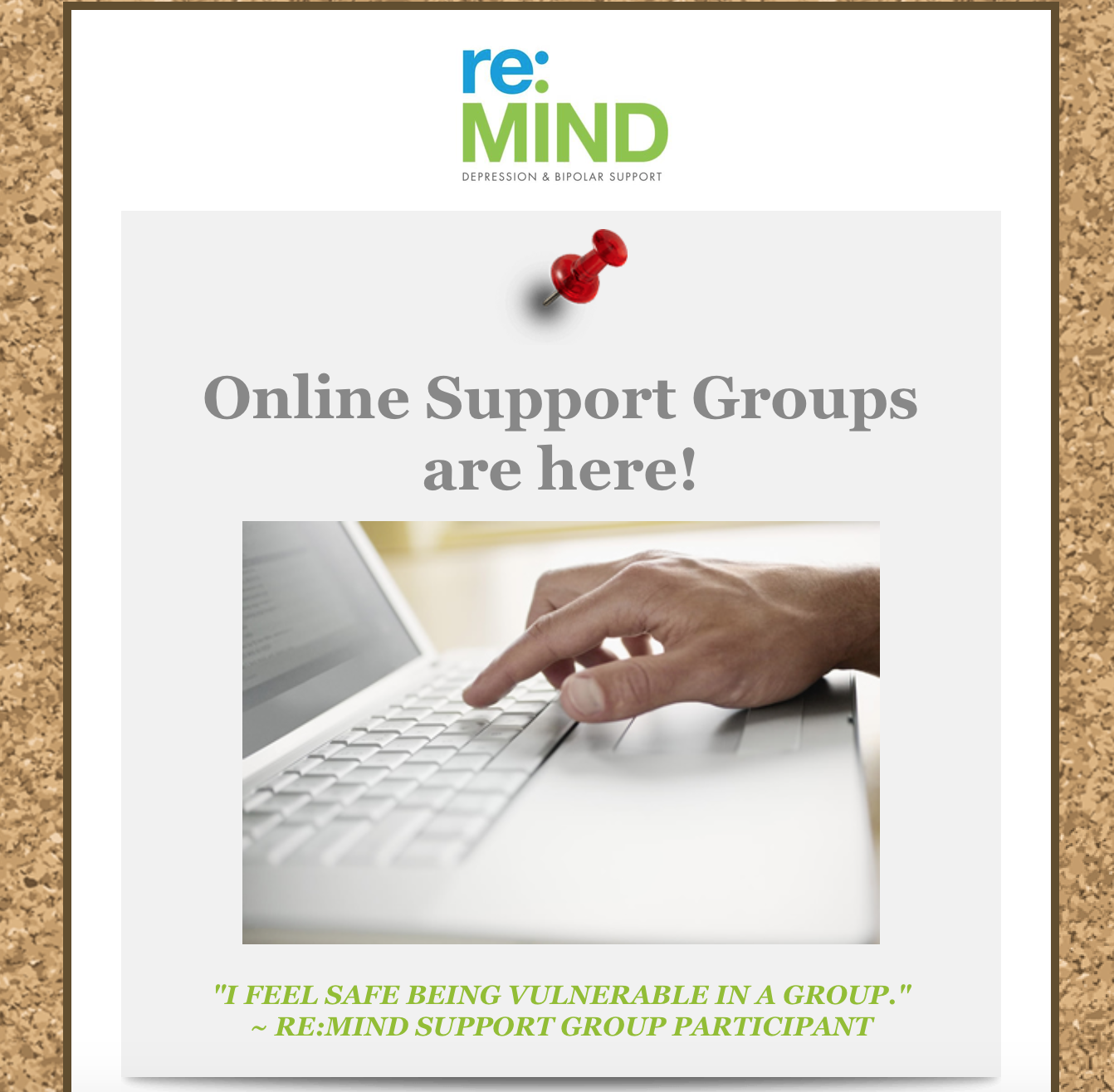 Online Groups are here!